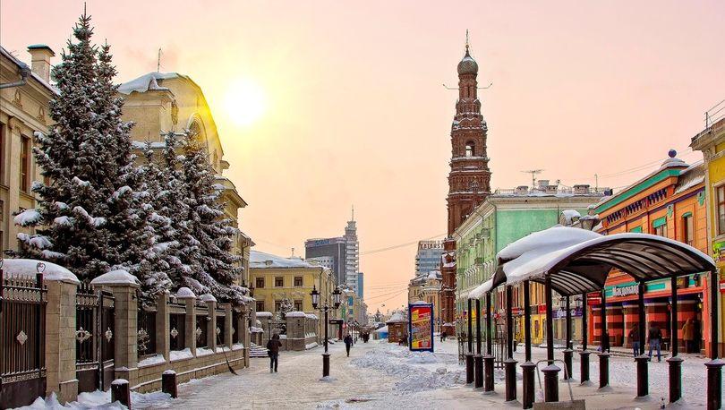 улица Баумана Казань