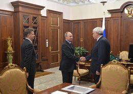 Полтавченко доложил Путину о завершении строительства ЗСД