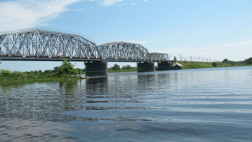 Старый мост Волхов