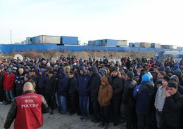 ФМС нашла 200 гастарбайтеров на петербургской стройке