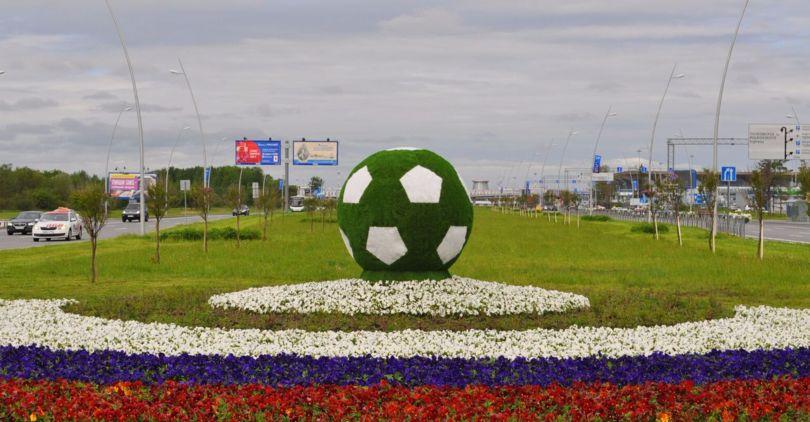 Тренировку сборной Российской Федерации пофутболу в столицеРФ посетили около 4 тыс. человек