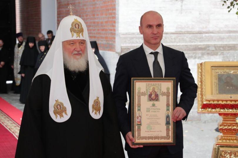 Креславский и патриарх Кирилл