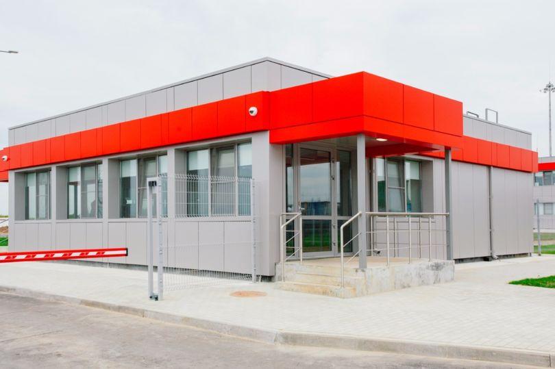 модульное здание элмако