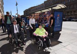 Невский проспект не доступен для инвалидов