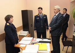 Следственный отдел по Фрунзенскому району получил новое помещение