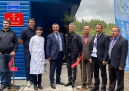 открытие ветеринарной станции в Рощино
