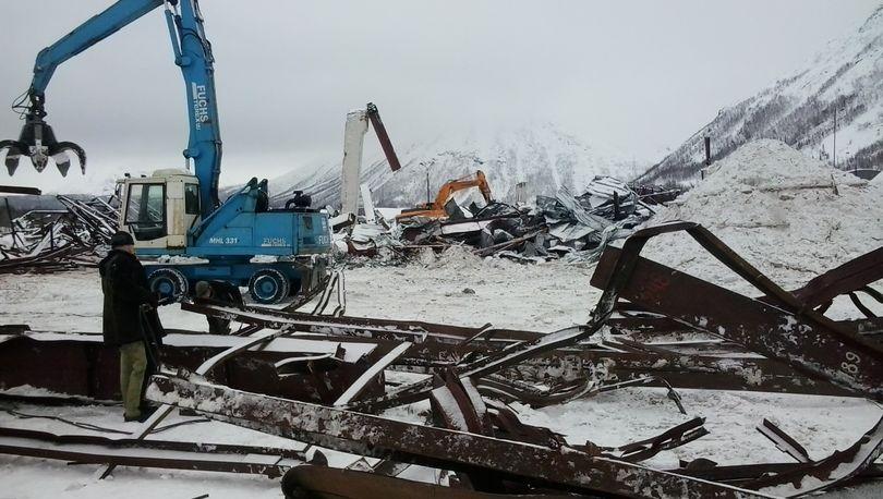 «Размах» демонтировал складской центр на промплощадке Кировского рудника