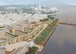 Новый проект судебного квартала в Петербурге презентуют в апреле