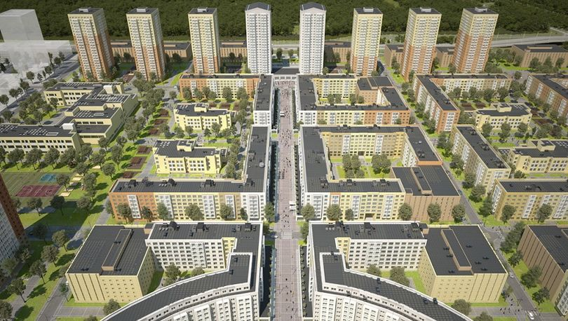 Началась передача ключей от квартир в первой очереди ЖК «Новоорловский»