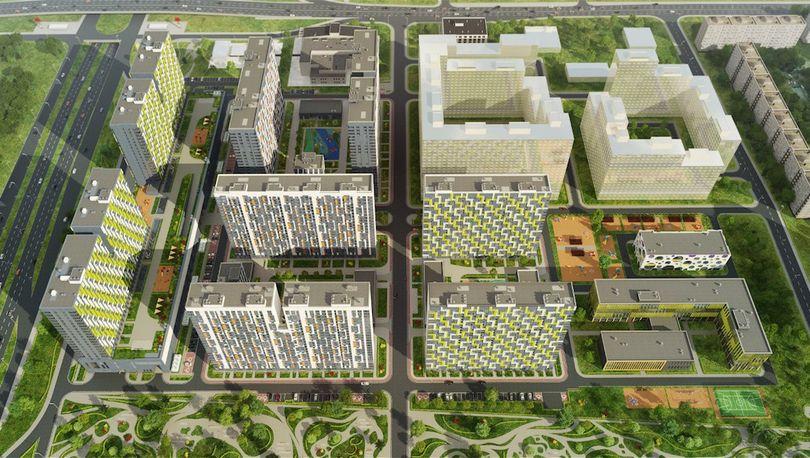 ГК «Эталон» в строительство ЖК «Летний сад» в Москве вложит 17 млрд рублей