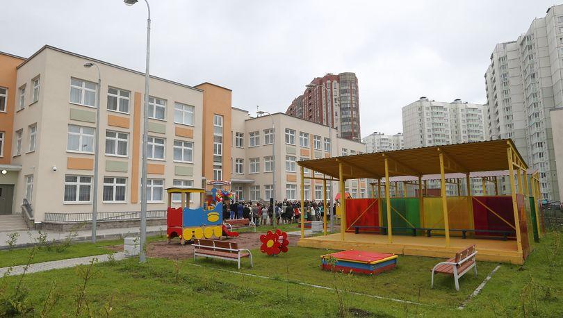 В Невском районе открылось 4 новых детских сада