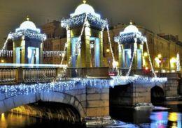 подсветка петербурга