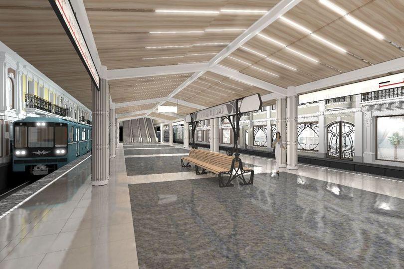 Станцию метро «Румянцево» откроют в Москве в 2014 году