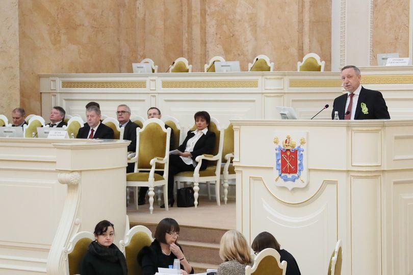 Заседание парламента 230119