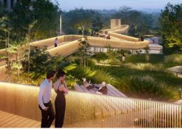 В 2023 году в Раменках появится первый участок парка «Событие»
