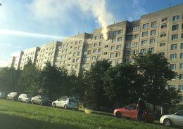 На Маршала Казакова горела квартира