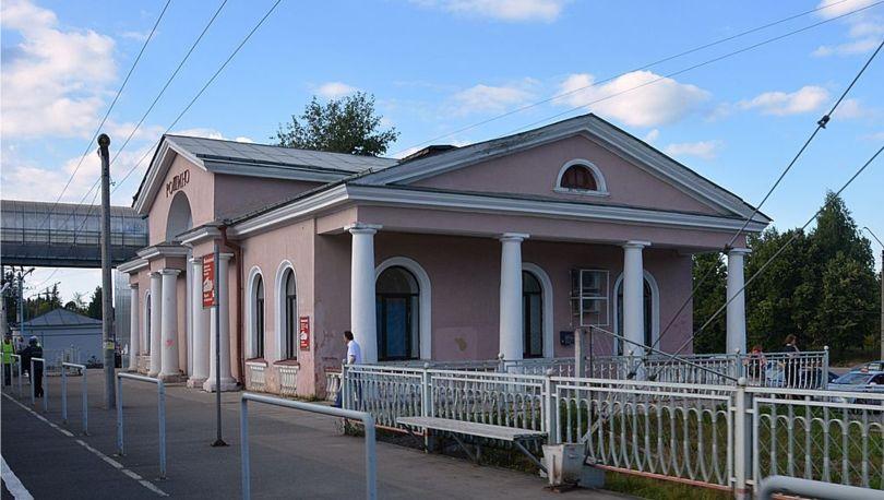 Станция Рощино