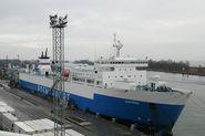 В Балтийске реконструируют паромный терминал