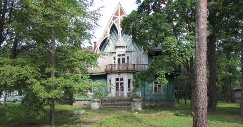 Деревянная дача в Курортном районе