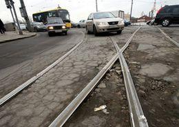 В Приморском районе отремонтируют трамвайные пути