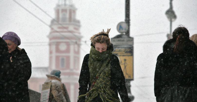Непогода в Петербурге