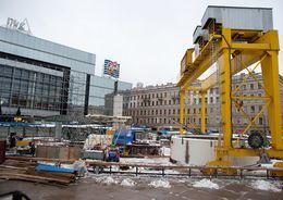 Сегодня откроется наземный вестибюль станции метро «Спасская»