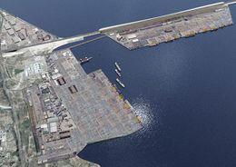Строительство порта «Бронка» завершится в 2018 году