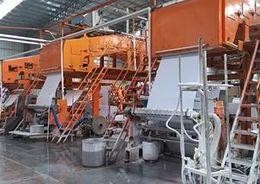 Фабрику по производству обоев в Гатчинском районе достроят к концу года