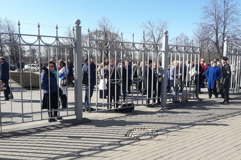 эвакуация в судах города