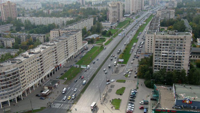 Начинается ремонт проспекта Славы