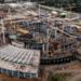 Вздание «СКА Арены» залили более 119 тысяч кубометров бетона