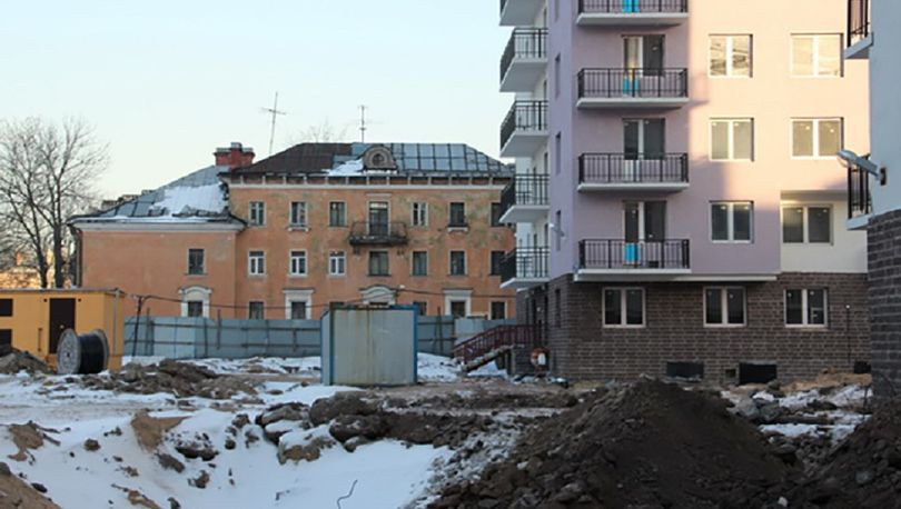 Строительство ЖК «Охта-Модерн» планируют завершить в июне