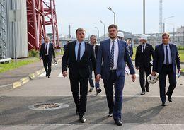 Встреча руководства двух ведущих энергокомпаний Санкт-Петербурга
