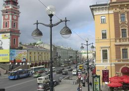 Невский становится «ресторанной улицей»