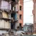 На Васильевском начался демонтаж здания школы