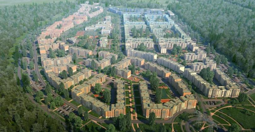 В ЖК «Новое Сертолово» построят ТЦ