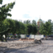 Центральная площадь Кировска благоустраивается