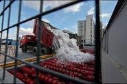 На Васильевском острове открылся снегоплавильный пункт