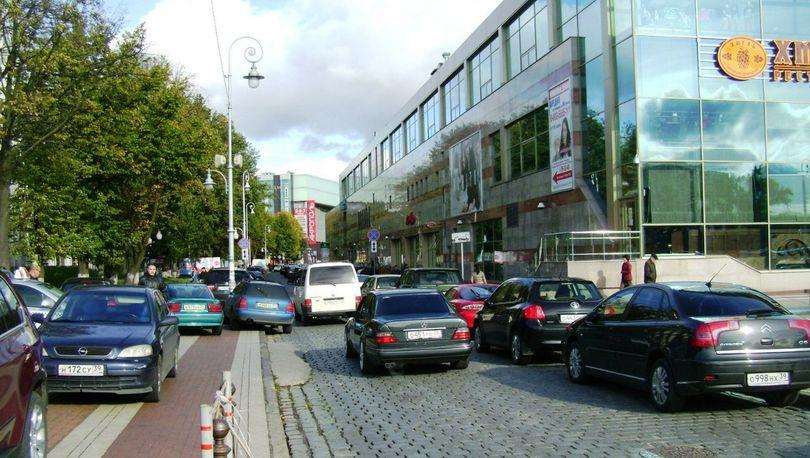 Улица Баранова в Калининграде станет пешеходной