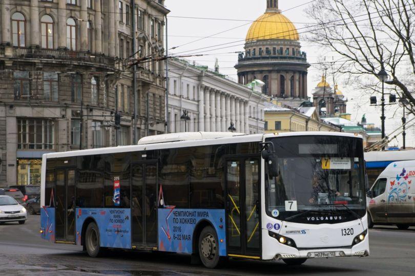 автобусные маршруты Петербурга