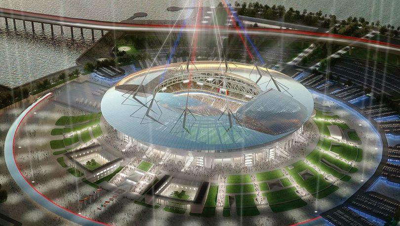 Смольный: Строительство стадиона на Крестовском пока не остановлено