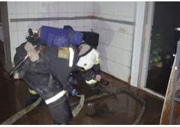 Очевидцы: В пожаре на ул. Крупской погиб мужчина