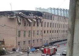На Большом Сампсониевском рухнул этаж дома