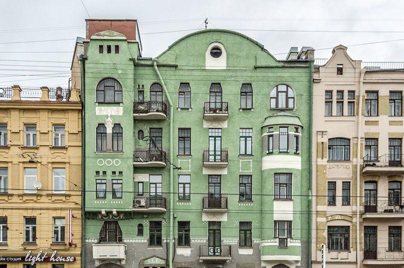 Дом М.К. Чаплиц