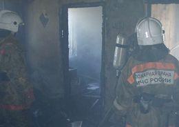 Женщина погибла в пожаре на Комендантском