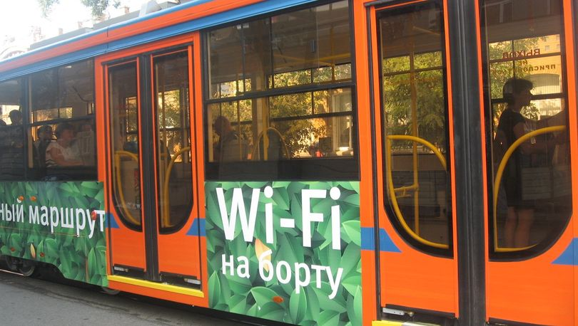 В петербургских автобусах появился Wi-Fi