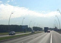 Завершена реконструкция освещения дороги в Пулково