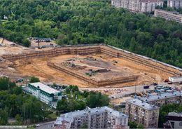 Руководство футбольного ЦСКА обещает достроить стадион в 2015 году
