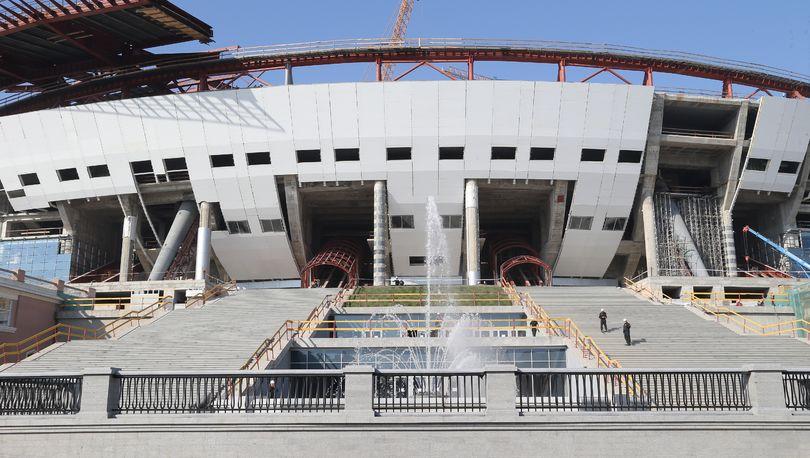 КС: Точная дата ввода стадиона на Крестовском – 1 мая 2016 года