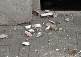 Жилкомсервис  наказали за обрушение штукатурки на пешехода
